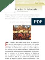 Cataluña, reino de la fantasía, por Antonio Muñoz Molina