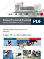 Ceragon Products & Backhaul Solutions