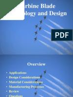 Turbine Blade Technology and Design