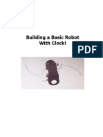 Bulding a Basic Robot With Clock!