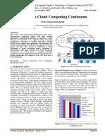 Towards a Cloud Computing Continuum