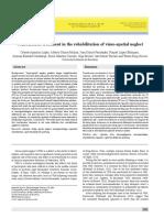 Combination Treatment in the Rehabilitation of Visuo-spatial Neglect