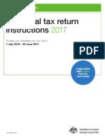 Individual Tax Return Instructions 2017