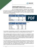 Mineramilpo Informe de Gerencia Milpo 1t 2013