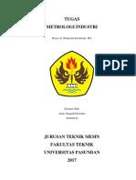 Cover Metrologi