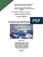 Plan de Ventas American Airlines