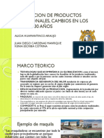Prod Export Trad Peru Ult 30 Años