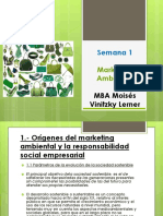 Semana 1 Marketing Ambiental