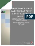 _09 - Elementi Guida Giustificazioni Di Offerta