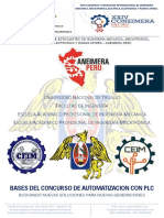 Bases Del Concurso de Automatizacion