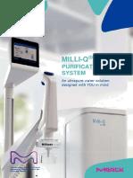 Ultrapure Water Systems - IQ7000 MERCK