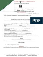 Modulo Ammissione Corsi 24 CFA