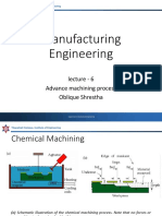 Lecture 6 Advance Manufacturing Process
