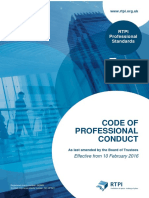 RTPI Code of Professional Conduct (February 2016)