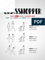 Grasshopper Workout