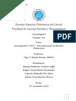 Investigación 2 NIC 1 - Presentación de Los Estados