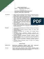 Sk Pembentukan Komite Keperawatan