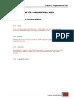 Chapter 2 Organizational Plan.doc