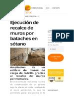 Ejecución de recalce de muros por bataches en sótano _ e-STRUC.pdf