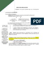 Droit Des Obligations 1