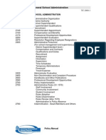 General School Administration Policies- 2000 Series