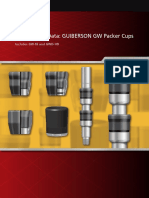 Guiberson Gw Packer Cups Brochure