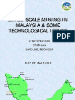 Small-scale Mining in Malaysia & Technological