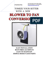 Blower to Fan Conversion Kit ISI4490 1