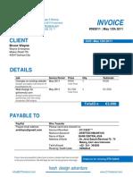61094303 Contoh Invoice