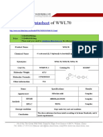 Datasheet of WWL70|CAS 947669-91-2|sun-shinechem.com
