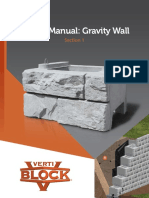 Sec 1 Design Manual VB Gravity Wall 1.0