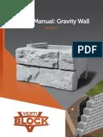Sec 1 Design Manual VB Gravity Wall 1.0