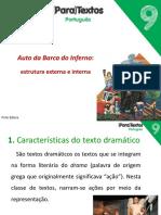 Auto Da Barca_caracteristicas Do Texto Dramático_port_9º Ano