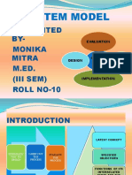 System Model Ppt