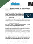 Informe Sobre El Proceso de Justicia y Cuadro de Imputados