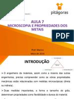 Aula 7 Propriedades MicroscopicaseMecnicas 20160605164923