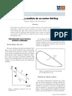Fabricación  análisis de un motor Stirling