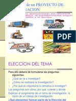 Elementos Proyecto Investigacion