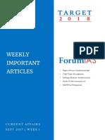 ForumIAS September Week 1