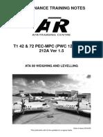 ATA 08 Weighing & Levelling