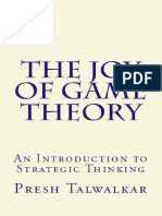 Presh Talwalkar- the Joy of Game Theory