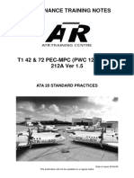 ATA 20 Standard Practices