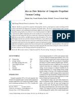 JATMv4n2 p197-203 Numerical Studies on Flow Behavior of Composite Propellant Slurry During Vacuum Casting