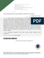 2 School Management Characteristics