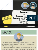 Sia vs CA (Banking)