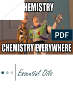 Essential Oils Chemistry