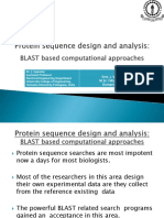 Protein sequence design and analysis