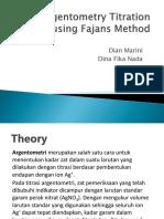 Argentometry (metode fajans).ppt