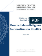 Bosnia Ethno Religious Nationalism s Conflict