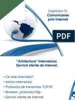 Arhitectura Internetului. Servicii Oferite